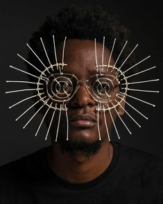 The artist putting rubbish to visionary use – in pictures - An eyewear mask creation by artist Cyrus Kabiru who began making his art by using trash from the sl -