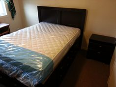 New Bed with Mattress