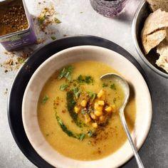 Met Euroma Original Spices by Jonnie Boer Ras el Hanout. Veggie Recipes, Soup Recipes, Healthy Recipes, Vegan Soup, Healthy Soup, Healthy Diners, Lunch Restaurants, Ras El Hanout, Go For It