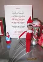 Goodbye letter from elf on the shelf