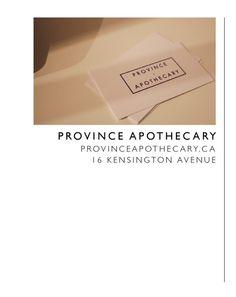 haute spots- province apothecary christine dovey