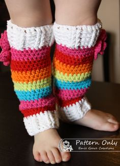 Limited Time Sale BASIC LEG WARMER Crochet by EmieGraceCreations. $2.99 USD, via Etsy.
