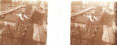 [Obras de la construcción del tanque de petróleo para el Ministerio de Marina, ubicado en Puerto Belgrano] Ca. 1935.  Colección Hume Hermanos.