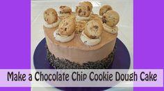 Make a Chocolate Chip Cookie Dough Cake