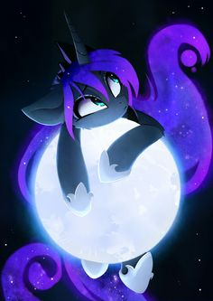 The moon is mine Art by MangnaLuna on DevientArt