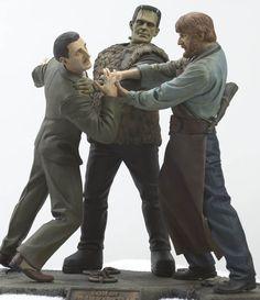 """Frankenstein - """"Son Of Frankenstein"""" Resin Model Kit"""
