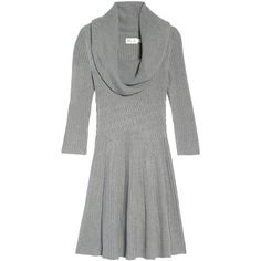 Women's Eliza J Cowl Neck Sweater Dress (270 PEN) ❤ liked on Polyvore featuring dresses, eliza j dresses, green color dress, green sweater dress, cowl neck sweater dress and stitching dresses