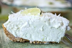 "Cozy Summer Dessert: Coconut-Lime ""Island Breeze"" Icebox Pie, A Hot, Midsummer Day's Dream post image"