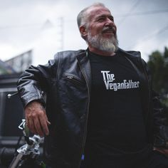 The Vegan T-Shirt Company - Ethical Vegan T-Shirts and Clothing Geile T-shirts, T Shirt Company, Cool T Shirts, Leather Jacket, Vegan, Celebrities, Jackets, Clothes, Nice