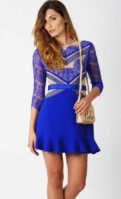 Modelos de Vestidos com Renda Curtos e Longos da Moda