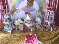 1st Birthday Princess, Baby Shower Princess, Mermaid Birthday, 1st Birthday Girls, Birthday Parties, Unicorn Baby Shower, Unicorn Party, Baby Girl Nursery Themes, Baby Shower Themes