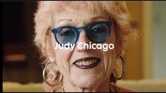 ', said Judy Chicago, laughing, when she met Art Basel's video team at the Institute of Contemporary Art Mia. Judy Chicago, Institute Of Contemporary Art, Video Team, Art Basel Miami, New York Museums, Feminist Art, Land Art, Meet The Artist, Female Art