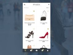 Pyazza product grid/search