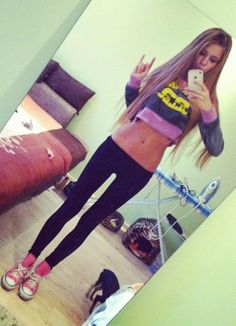 I want it all - the flat stomach, the thigh gap and the long hair ;) and I'm working on it. YAY, more patience to me! #thinspiration, #thigh gap, #flat stomach