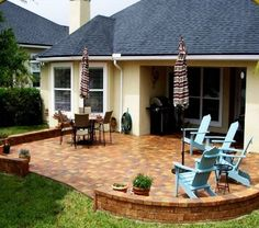 Outdoor Patio Ideas - website more so than this pic