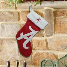 Alabama Crimson Tide Stocking! Check out all of the Bama Holiday decor here: http://pin.fanatics.com/COLLEGE_Alabama_Crimson_Tide_Accessories_Holiday_Items/source/pin-bama-hoilday-items-sclmp