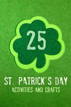 25 St. Patrick's Day Activities & Crafts via @spaceshipslb