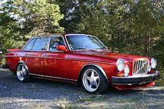 Nicely modified Volvo 164