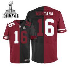 Wholesale NFL Jerseys - Joe Montana Jersey: Authentic 49ers Women's Youth Kids Mens Nike ...