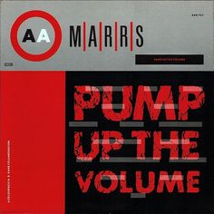 MARRS PUMP UP THE VOLUME Studio 54, Vinyl Collection, Johnny Marr, A & R, Island Records, Electronic, Vinyl Music, Popular Music, Dance Music