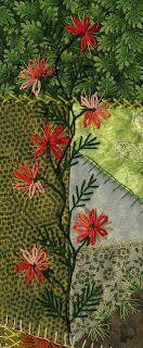 Spiel mit Textil: Sticken