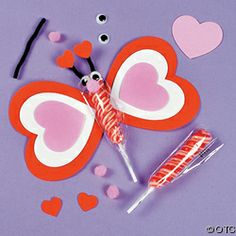 Make this fun Valentine Twisty Pop Butterfly Craft Kit- Valentine's Day craft ideas for Kids. Spend quality time with your children making these fun valentine crafts. Valentine's Day Crafts For Kids, Valentine Crafts For Kids, My Funny Valentine, Valentine Day Love, Happy Valentines Day, Holiday Crafts, Butterfly Crafts, Craft Kits, Craft Ideas