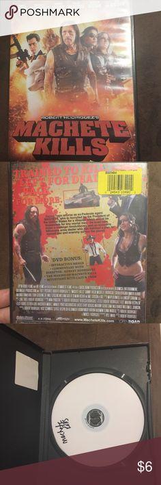 DVD Super great movie. Machete kills. Accessories