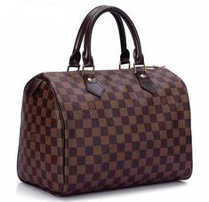 duffel bag Interior and outer pockets.Dimensions: x x handle dropImported. In brown and white duffel bag Interior and outer pockets.Dimensions: x x handle dropImported. In brown and white Louis Vuitton Handbags, Louis Vuitton Speedy Bag, Louis Vuitton Damier, Vuitton Bag, Guess Handbags, Ladies Handbags, Luxury Bags, Cowhide Leather, Bag Sale