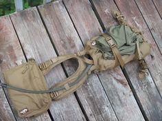 Tarahumara Pack with harness and Kit bag