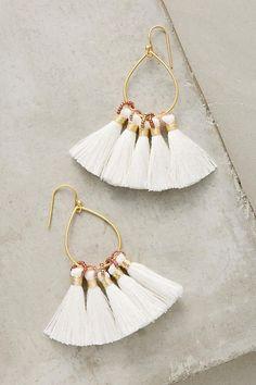 Картинки по запросу pom tassel earrings