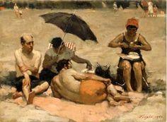 Malcolm Liepke, American Painter