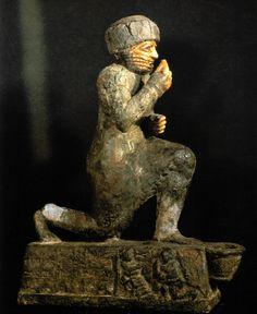 Oratório em memória de Hamurabi, II milênio a.C., Museu do Louvre, Paris.