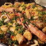 Paella….een niet te overtreffen Spaans recept Paella, Other Recipes, Fish Recipes, How To Cook Fish, Fish Dishes, Budget Meals, Bbq, Outdoor Cooking, Seafood