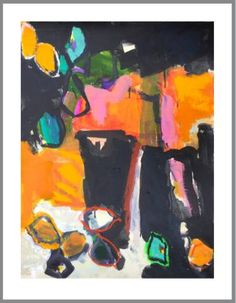 """Saatchi Art Artist Per Anders; Painting, """"Wednesday market in Buis"""" #art"""
