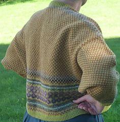 Ravelry: Celtic Summer jacket pattern by Jean Hay Penny Fair Isle Knitting Patterns, Celtic Culture, Shetland Wool, Summer Jacket, Fall Jackets, Jacket Pattern, Celtic Knot, Hand Knitting, Free Pattern