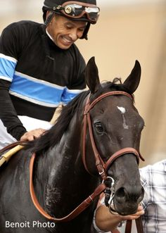 Shared Belief and jockey Mike Smith