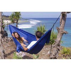 49 86  campinghammock  giftideas 2 person parachute hammock outdoor sports camping gear long lasting nylon portable camping hammock   includes hammock straps bag carabiners      rh   pinterest