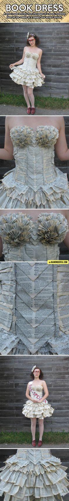 The book dress.