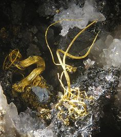 Gold  Roşia Montanã, Alba County, Romania  .  http://www.mineral-forum.com/message-board/viewtopic.php?t=384=0=asc=40