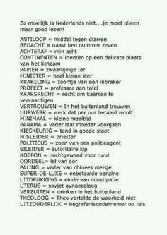 nederlandse les?