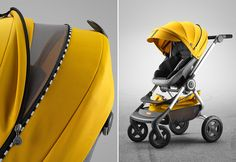 Best Products For Babies and Kids March 2016   POPSUGAR Moms   Featuring Stokke Scoot Stroller with Yellow Racing Style Kit