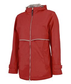 51d38d456 Adult - New Englander Rain Jacket by Charles River: $59.98 - We Offer  Monogramming!