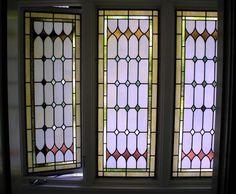 Tudor-style casement windows (detail)