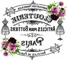free shabby chic transfer images - Google Search