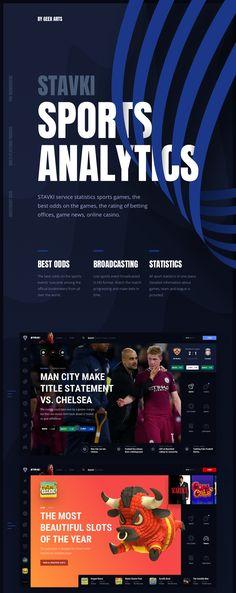 Stavki – Sport Bets Analytics on Behance