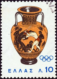 Find 1964 Olympic Games - Tokyo, Japan in the Stamps (Postage Stamps) - Europe - Greece category in Webstore online auctions 1964 Olympics, Tokyo Olympics, Greece Pictures, Atlanta, Popular Hobbies, Postage Stamp Art, Stamp Printing, Tampons, Stamp Collecting