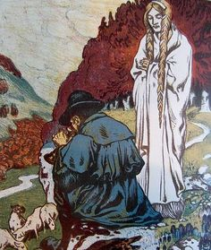 frau holle | frau holle or holda was the well known winter goddess of northern ...