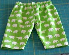 These Comfy Elastic Waistband Pants are adorable, simple, and perfect for the little ones in your life. This tutorial will teach you how to sew an elastic waistband for pants, which will keep your child comfortable and snug.