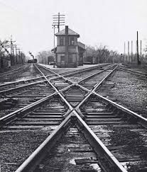 Image result for train switch track tower historic