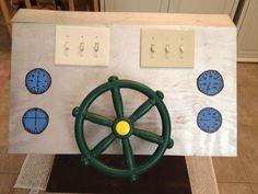 Airplane control panel- Conscious Discipline idea...add in S.T.A.R & Pretzel